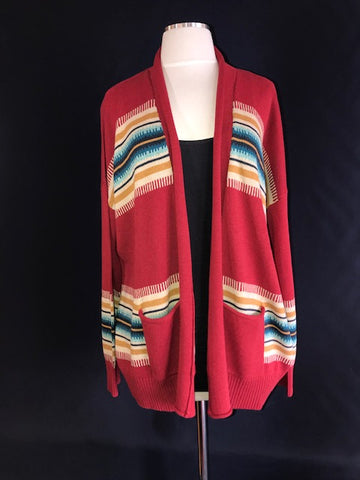 Women's Pendleton Made Open Cardigan