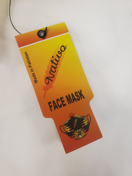 Nativo© Face Mask, Style #4 - Kraffs Clothing