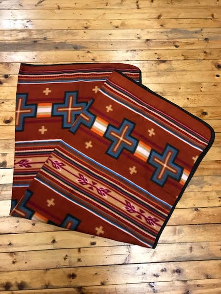 Polar Fleece Lodge Blanket, # 8