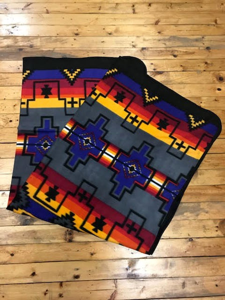 Polar Fleece Lodge Blanket, #4