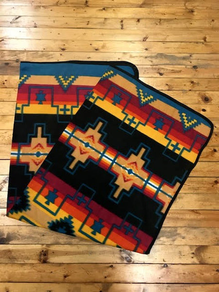 Polar Fleece Lodge Blanket, #5