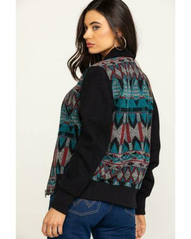 Cripple Creek Women's Navajo Blanket Bomber Jacket