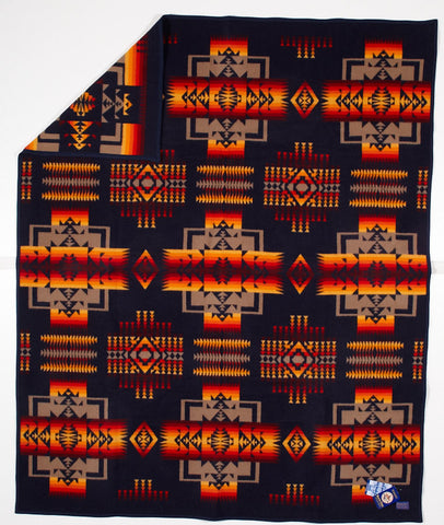 Pendleton® Chief Joseph Baby Blanket Collection, Indigo