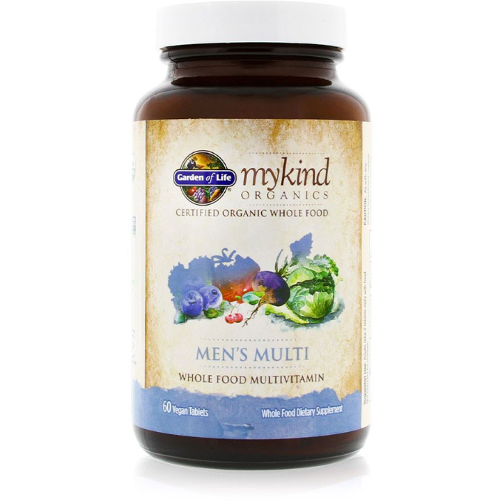 mykind Organics  Mens Multi - 60 tablets