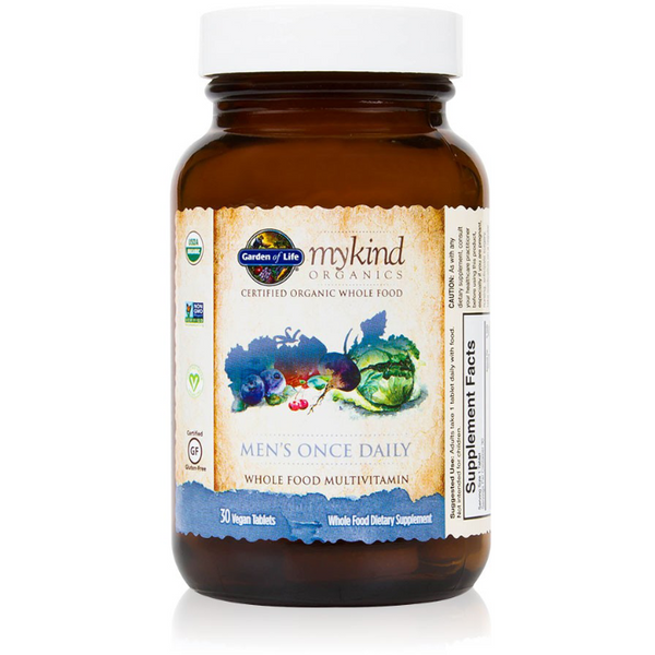 mykind Organics Men's Once Daily - 30 tablets