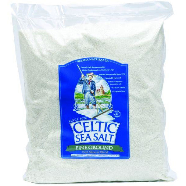 Celtic Sea Salt Fineground - 2.27kg bag