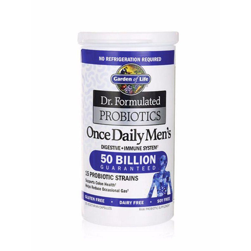 Dr Formulated Once Daily Mens Probiotic 50 Billion - 30 Vegan capsules