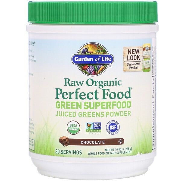 Perfect Food Raw Green Superfood  Chocolate