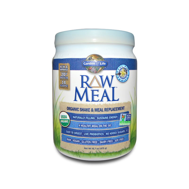 Raw Meal, Vanilla Half 484g