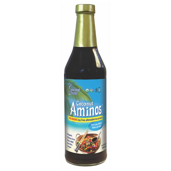 Coconut Aminos, Soy-Free Seasoning Sauce - 237ml
