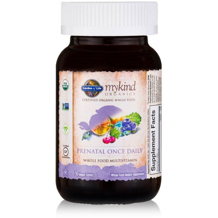 mykind Organics Prenatal Once Daily Multi - 30 tablets