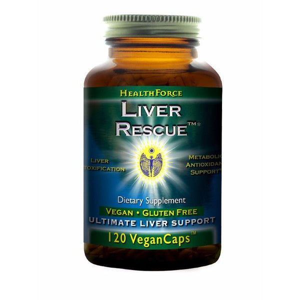 Liver Rescue 4 plus - 120 Vegan capsules