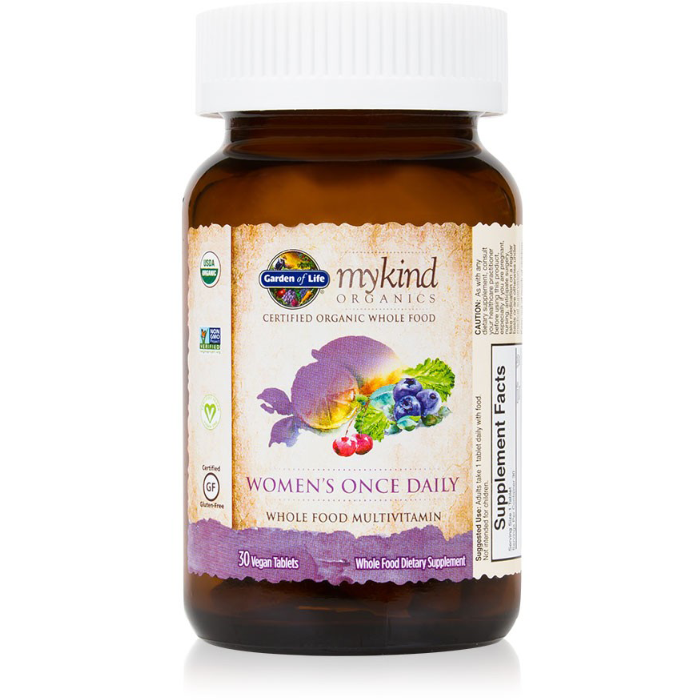 mykind Organics - Womens Once Daily - 30 tablets