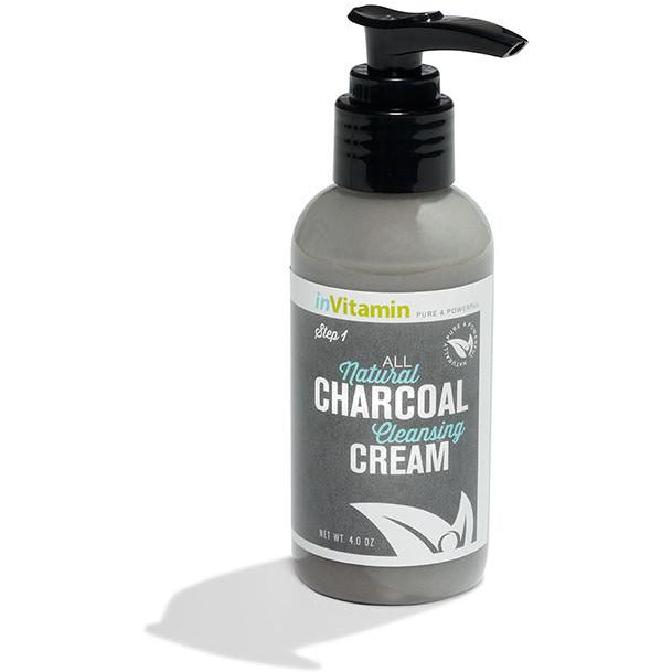 Charcoal cleansing cream