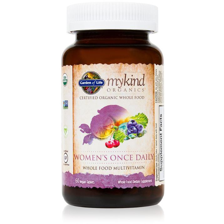 myKind Organics - Womens Once Daily - 60 tablets