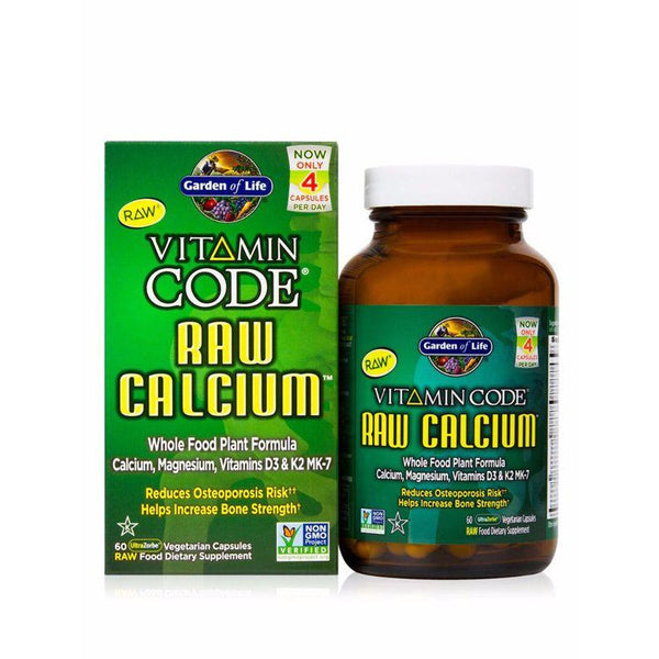 Vitamin Code - Raw Calcium - 60 capsules