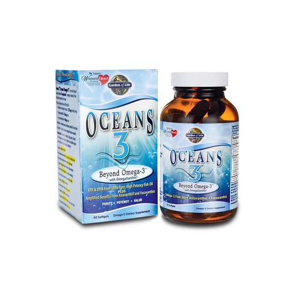Oceans 3, Beyond Omega, 60 soft gel