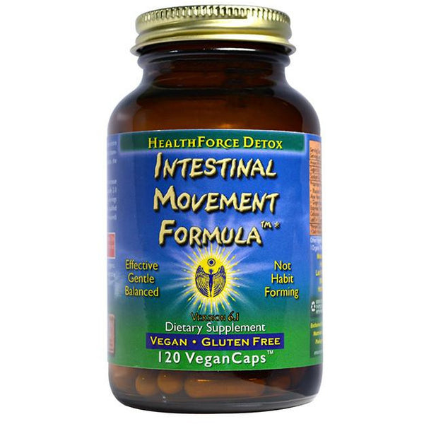 Intestinal Movement Formula - 120 Vegan capsules