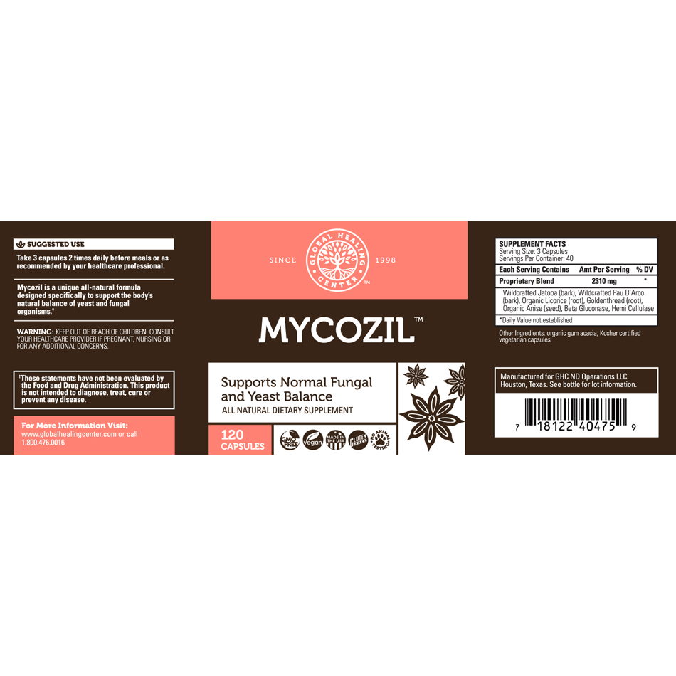 mycozil nutritionals