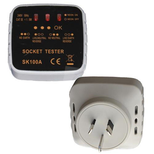 Earthing Outlet Checker
