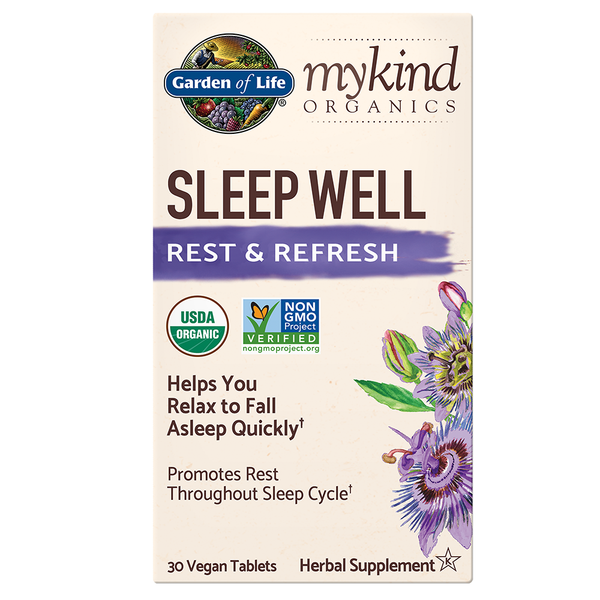 mykind Organics Sleep Well Tablets - 30 Vegan Tablets