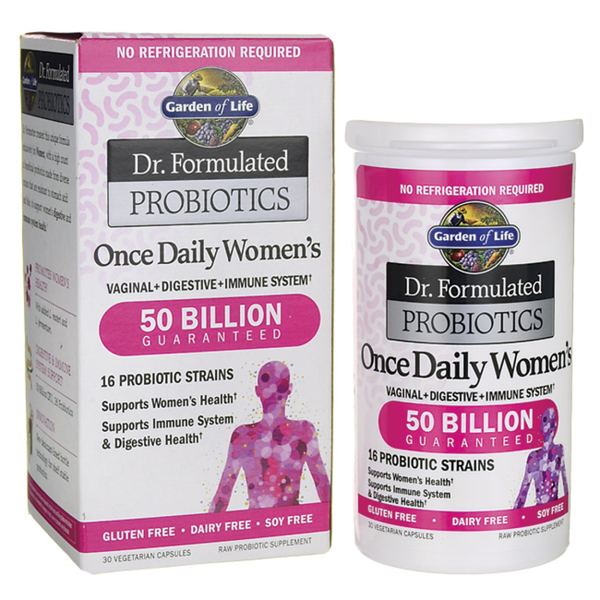 Dr Formulated Once Daily Women's Probiotic 50 million - 30 vegan capsules