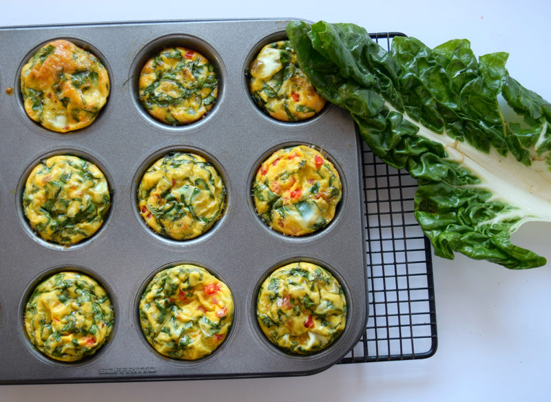 Healthy Egg & Spinach Cups