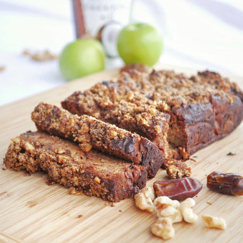 Apple, Walnut & Date Loaf