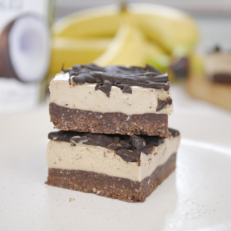 Peanut Butter and Banana Slice