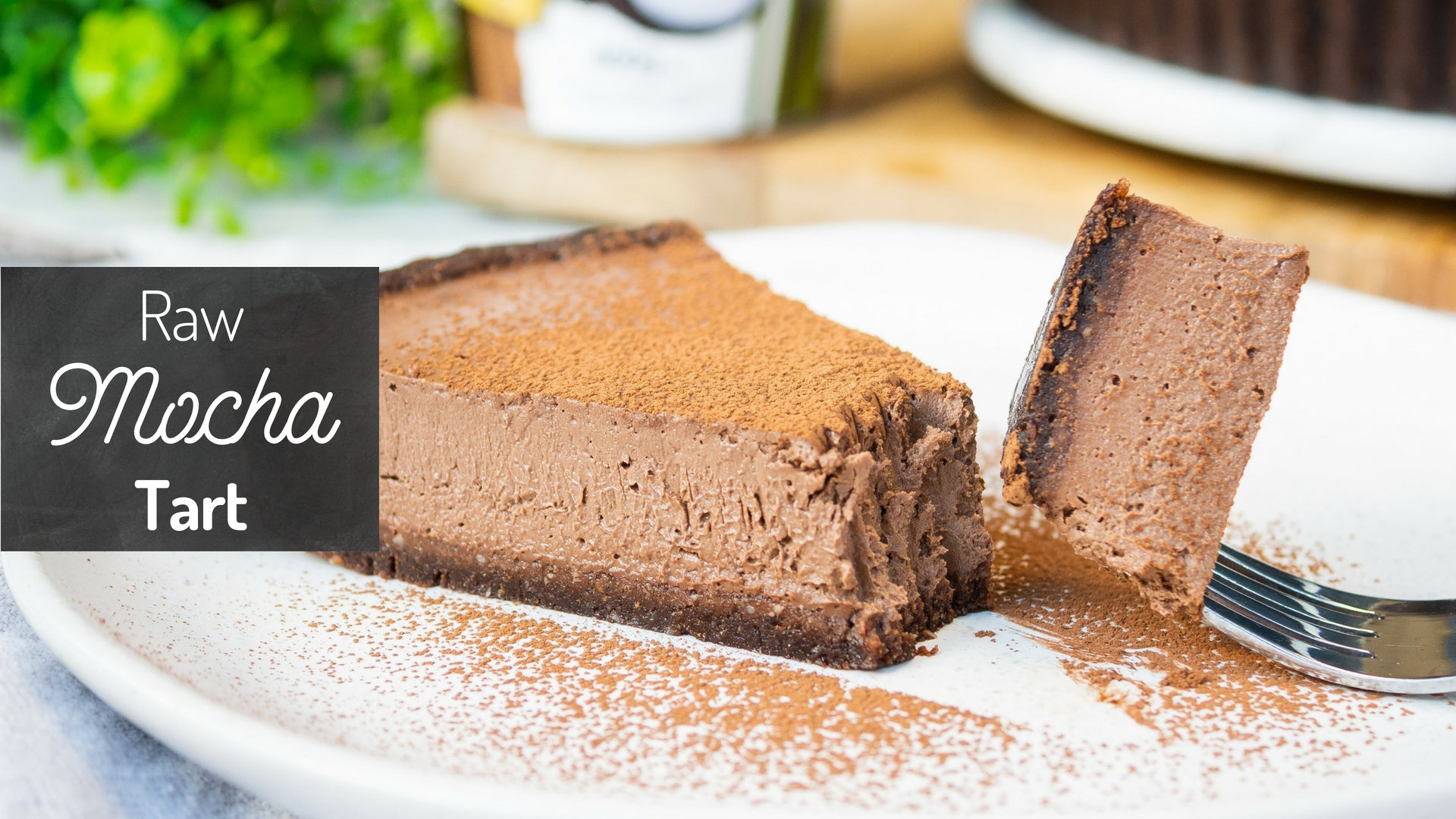 Raw Mocha Tart recipe