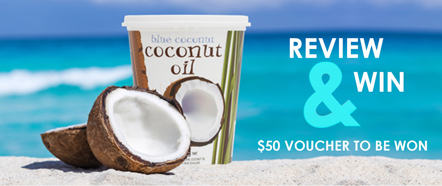 Review a Blue Coconut Product today!