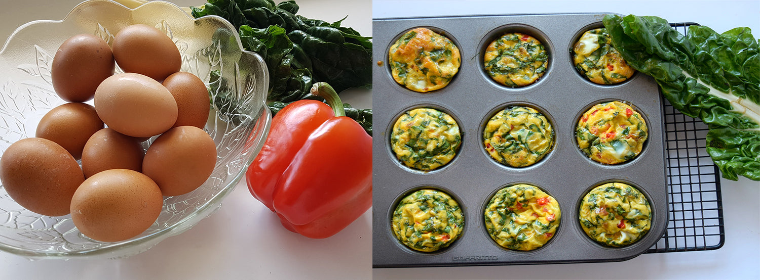 Recipe: Healthy Egg & Spinach Cups