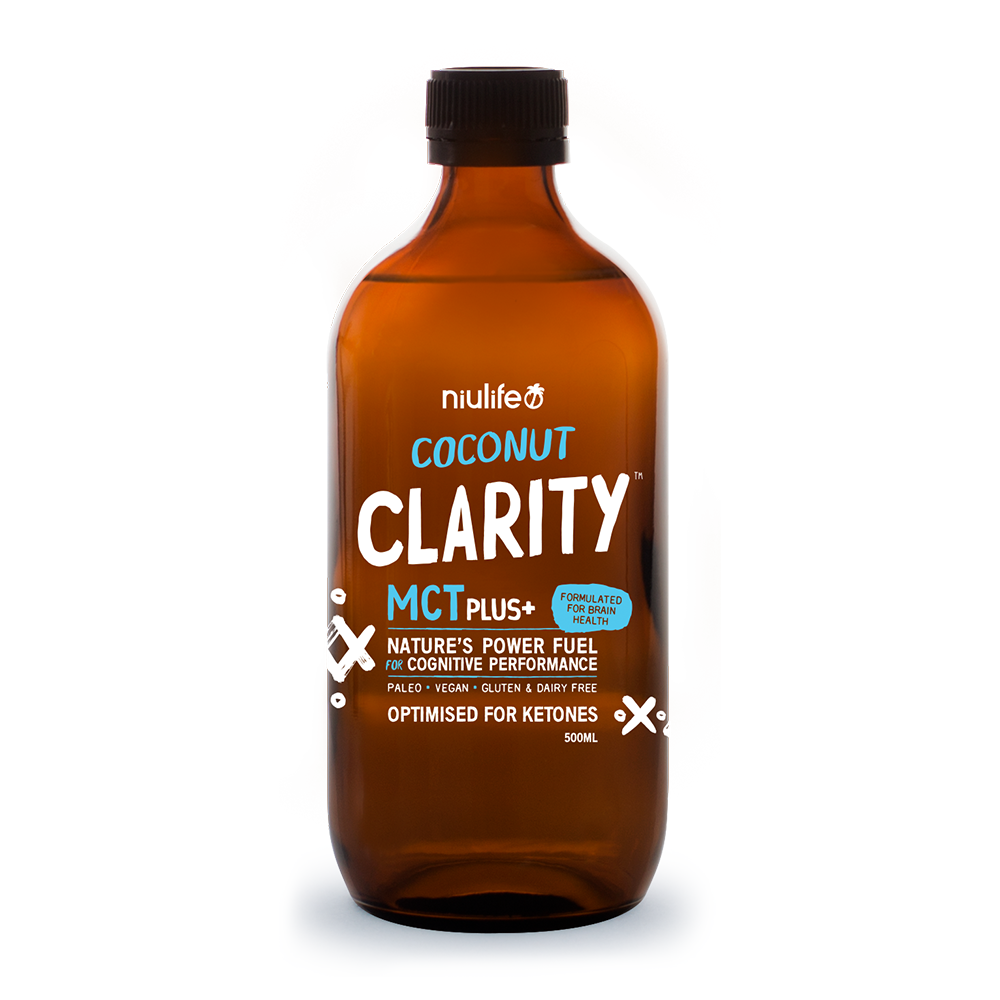 MCT Plus+ Coconut Clarity- 500ml Glass Bottle