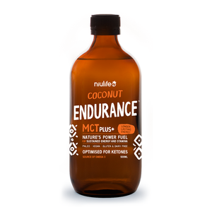 MCT Plus+ Coconut Endurance - 500ml Glass Bottle
