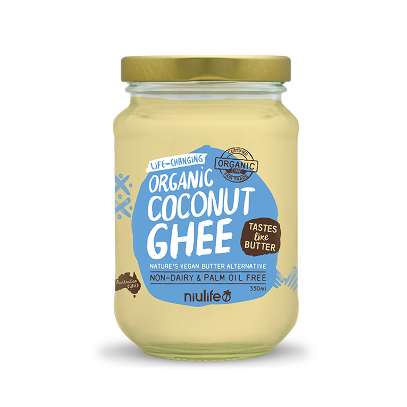 Coconut Ghee - 350ml Glass Jar - Certified Organic