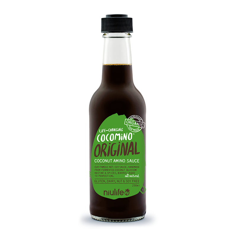 Original Coconut Amino Sauce - 250ml Bottle - Certified Organic