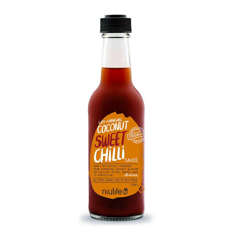 Coconut Sweet Chilli Sauce - 250ml Bottle - Certified Organic