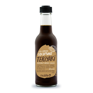 Coconut Teriyaki Sauce - 250ml Bottle - Certified Organic