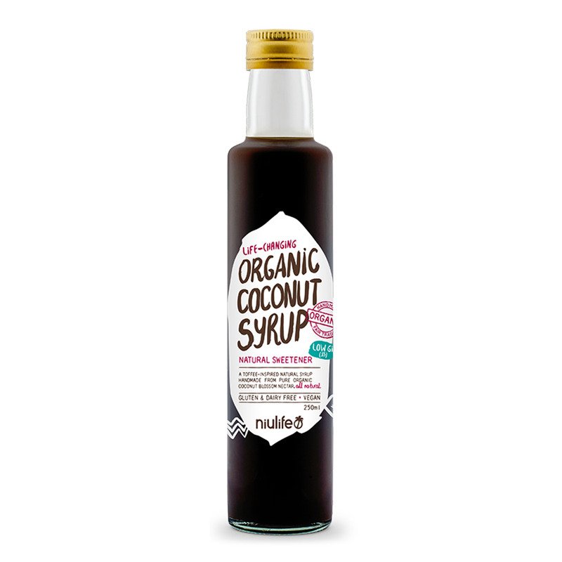 Coconut Syrup - 250ml Bottle - Certified Organic