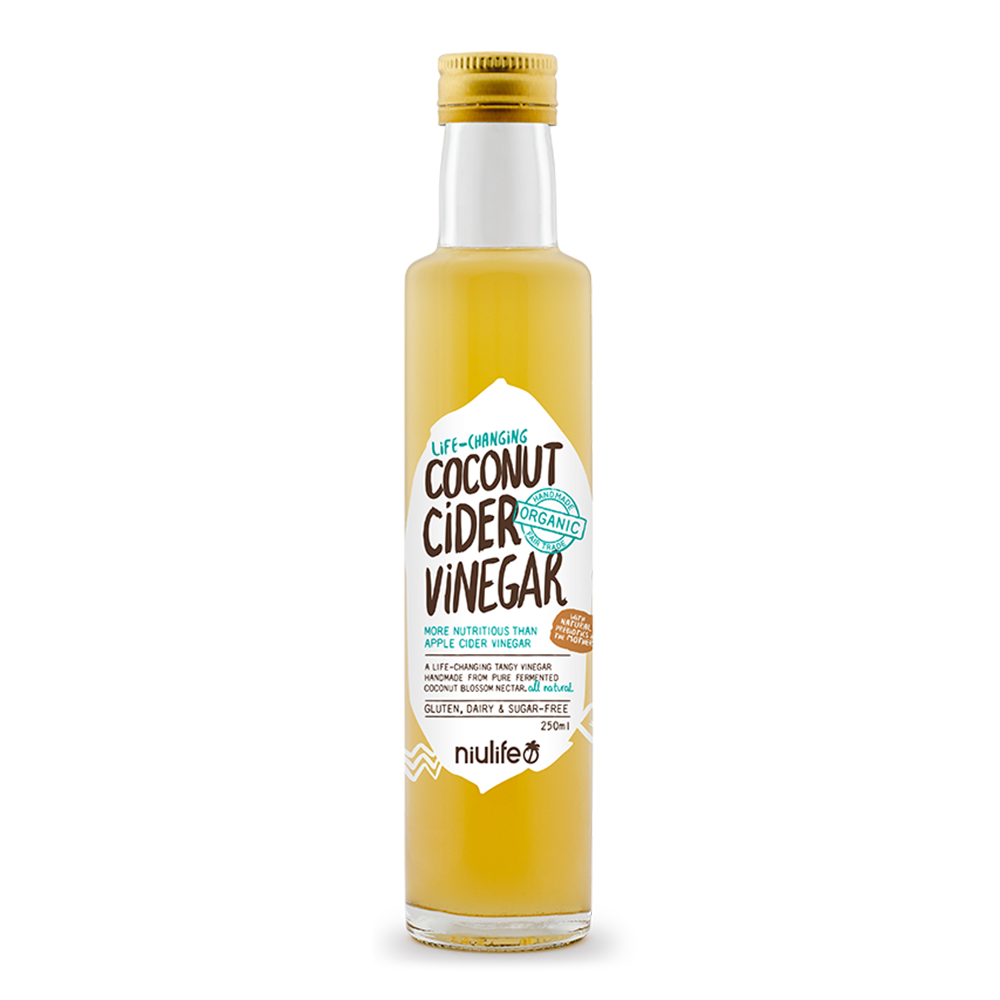 Coconut Cider Vinegar - 250ml Bottle - Certified Organic