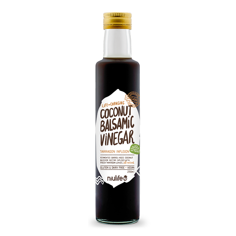 Coconut Balsamic Vinegar - 250ml Bottle - Certified Organic