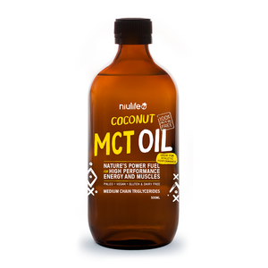 MCT Oil - 100% Coconut Derived- 500ml Glass Bottle