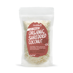 Shredded Coconut - 250g Pouch - Certified Organic