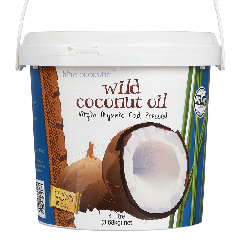 Wild Virgin Coconut Oil 4 Litre (3.68 kg)