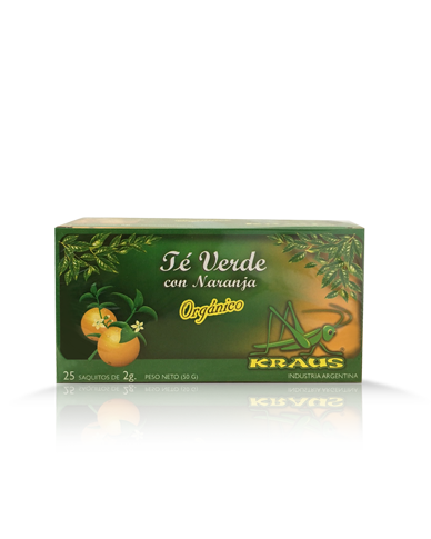 GREEN TEA WITH ORANGE|TÉ VERDE CON NARANJA