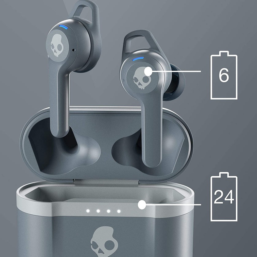 Audífonos Bluetooth True Wireless Skullcandy Indy EVO - Cold Gray