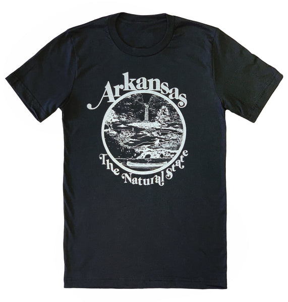 Arkansas Retro Natural State T-Shirt