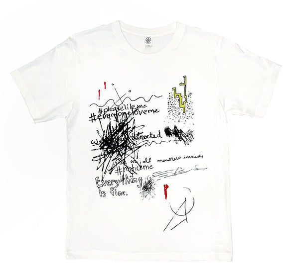 Limited Edition Abstract Doodle T-Shirt