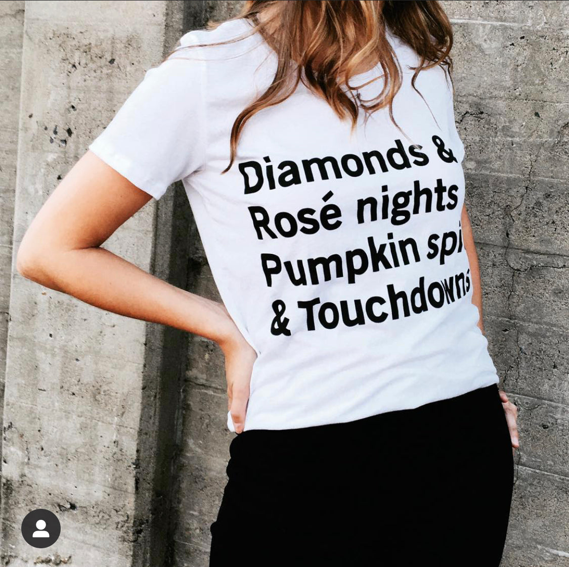 Diamonds, Rosé Nights, Pumpkin Spice, & Touchdowns T-Shirt