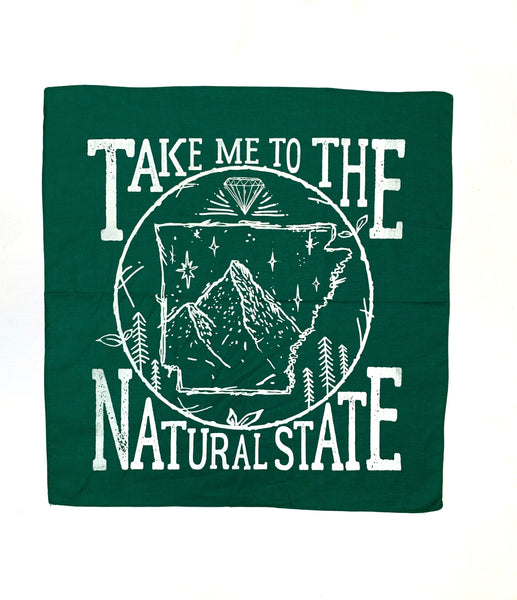 Take Me To The Natural State Bandana
